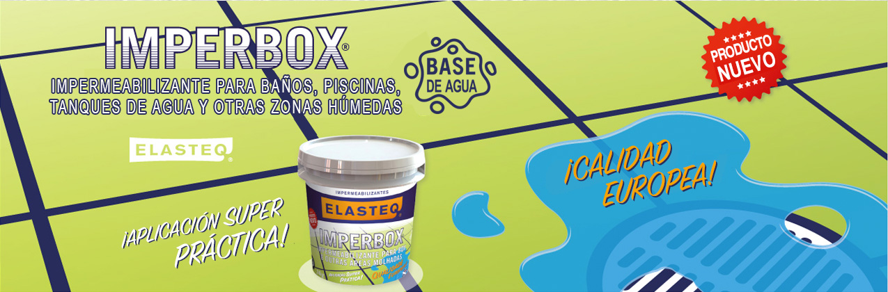 Elasteq Imperbox el mejor impermeabilizante para piscinas y tanques de agua