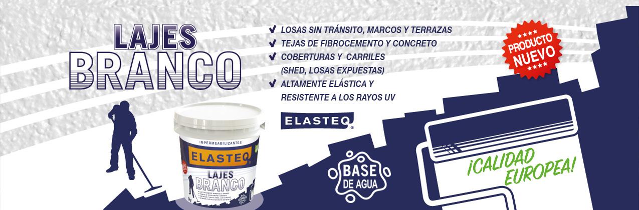 Elasteq Lajes el mejor impermeabilizante acrílico para techos y cubiertas